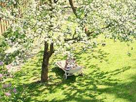 Ein toller Garten - so lässt sich Geschäfte machen