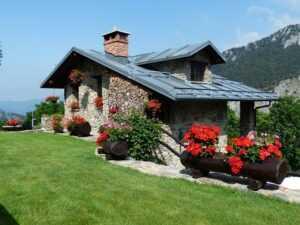 Kleines Haus als Beispiel für Baldham